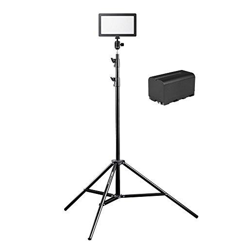 Walimex Pro Soft LED 200 Square Bi-Color, 3 Stück, schwarz