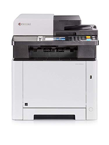 Kyocera Ecosys M5526cdn Farblaser Multifunktionsdrucker: Drucker, Kopierer, Scanner, Faxgerät. Inkl. Mobile-Print-Funktion. Amazon Dash Replenishment Funktion -