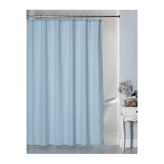 Active Elements World Standard Self Design Water Replant Shower Curtain Size (48 x 72) with Rust Proof Eyelet's