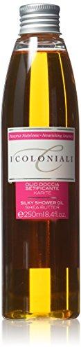 I Coloniali Olio Doccia Setificante al Burro di Karitè 250 ml