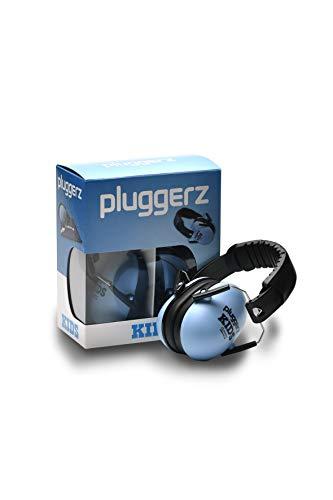 Pluggerz Kids - der einzigartige Gehörschutz speziell für Kinderohren (Blau)