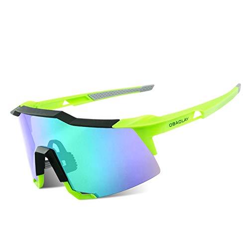 Blisfille Labor Schutzbrille Sport Und Outdoor Schutzbrillen Für Männer Und Frauen Mit Sonnenbrille Green Green Damen Herren