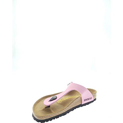 BirkenstockGIZEH Birko-flor Nubuck, Sandales pink