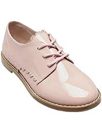 next Para Niñas Zapatos Zapatillas Con Cordones De Charol (Niña Mayor)