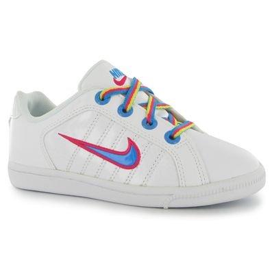 Nike Court Tradition 2 Plus 386623-106 Enfant Chaussures Blanc Blanc