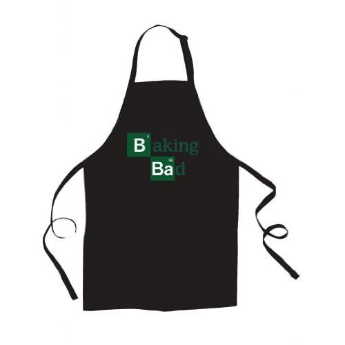 """Baking Bad"" Breaking Bad apron - Black"
