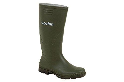 Cofan 12001747 - Bota alta de agua (cuarzo, T-47) color verde