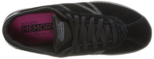 Skechers On The Go, Baskets mode femme Noir (Bbk)