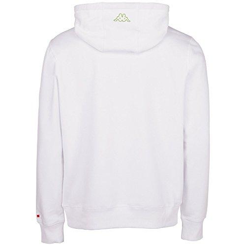 Kappa Herren Sweatshirt Zeno white