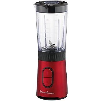 Blender/minipicadora/molinillo de especias Mix & Drink Mini rojo, de Moulinex lm133510