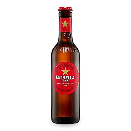 Estrella Damm Cerveza 330 ml