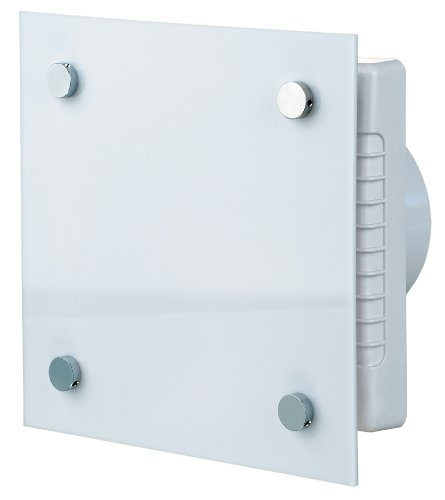 Design-Abluftventilator mit Hygrostat, Timer und elektrischem Innenverschluss