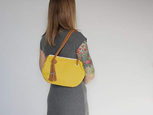 Gelbe Handtasche - 3