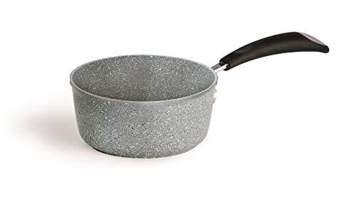 Bialetti 0B6C1016/A Induction Casserole, Aluminium, Gris, 32 x 16,6 x 10,8 cm