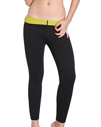 Valentina lang Slimming Pants Gewicht Verlust Hot thermo Schweiß Sauna Neopren Body Shapers, damen, schwarz -
