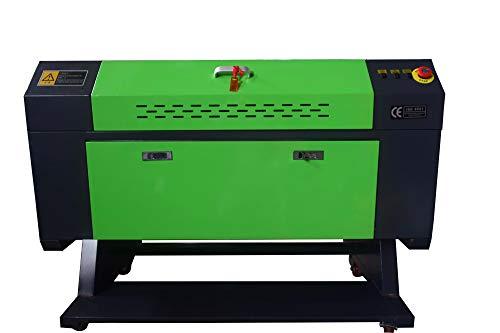 80w Lasergravur Engraver CO2 Lasergraviermaschine Gravurmaschine 700x500mm