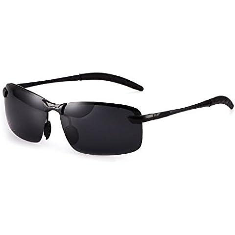La visione notturna polarizzata Lens Occhiali da sole Maschere Sport Outdoor Sun Eyewear 2#