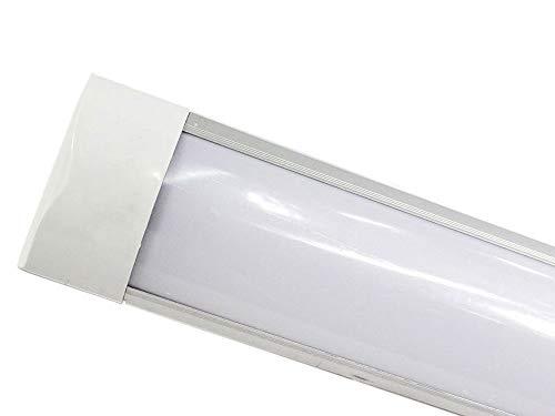 Plafoniere Per Tubi Al Neon : Vetrineinrete® plafoniera led slim sottopensile tubo neon 9 19 28 38
