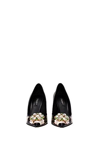 CD0046AC687HN26W Dolce&Gabbana Talon Femme Cuir Noir Noir