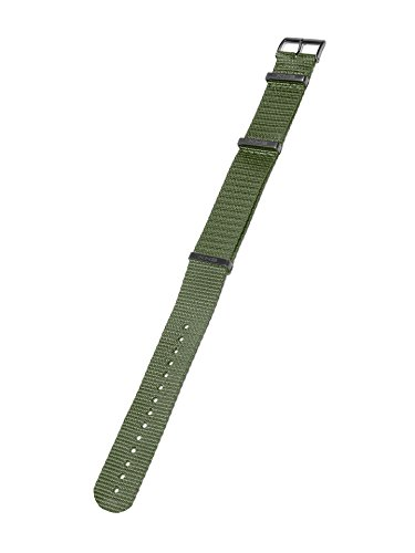 KHS Natoband Olive, Ersatzarmband, KHS.EBNO.24