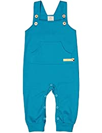 loud + proud Latzhose Aus Bio Baumwolle, Gots Zertifiziert Pantalones de Peto para Bebés