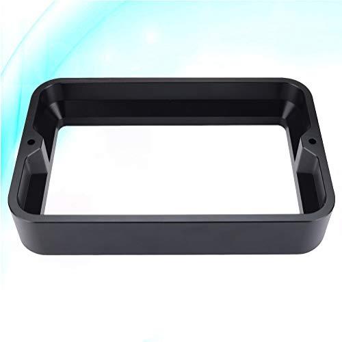Mipcase Tanque de resina de aluminio tanque de resina para DLP SLA Impresora 3D (negro)