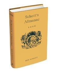SCHOTT'S ALMANAC 2006 by BEN SCHOTT (2005-08-01)