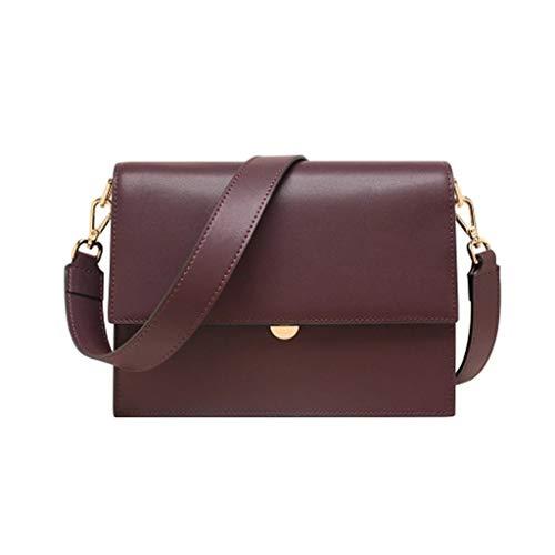 WHO AM I Kleine Quadratische Tasche des Lederorgans, 4 Farben Wahlweise Freigestellt, 24cm * 9 * 18cm Umhängetasche