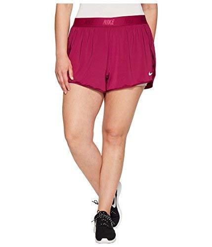 Nike Dry Training Short Size 1X-3X True Berry/Pure Platinum/Pure Platinum Women's Shorts Platinum-berry