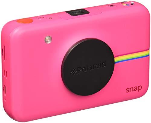 Polaroid snap - fotocamera digitale a scatto istantaneo con tecnologia di stampa a zero inchiostro zink, rosa