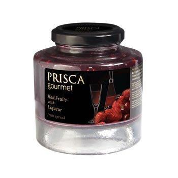PRISCA - Confiture de Fruits Rouges à la Liqueur - 230 gr