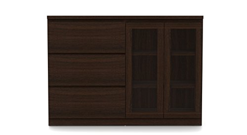 Urban Ladder Bocado Side Board (Dark Walnut)