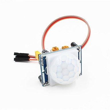 Für Arduino-Kits PIR-PIR Bewegungs-Sensor-Detektor-Modul w / 3-pin-Kabel für Arduino - blau + weiß Für Arduino. Pir-kit
