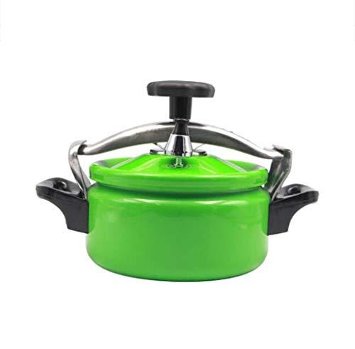 LBJYDGE Autocuiseur en Aluminium Haute Pression cuisinière sécurité cocotte-Minute Couvercle de Cuisson Anti-déflagrante Pression Mini 2L / 3L / 3.5L Cuisinière à Induction (Color : Green, Size : 2L)