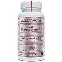 Airbiotic AB - Magnesio AB 150 mg. Minerales para el Metabolismo, Músculos, Calambres