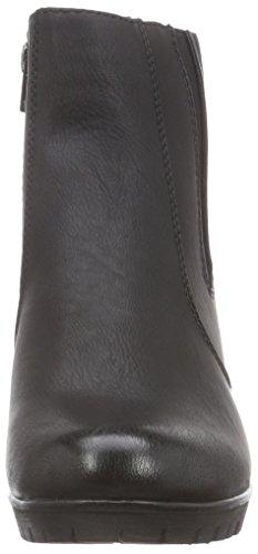 Rieker 98380-00, Bottes Classiques Femme Noir