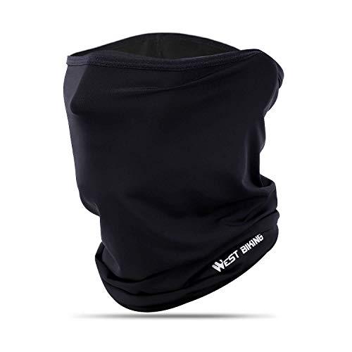 WESTGIRL Sommer Halsmanschette Sonnenschutz UV-Schutz, Atmungsaktive kühlen, weiche Kopfbedeckung Sturmhaube für Radfahren Laufen Wandern Angeln Motorradfahren (4 Farben)