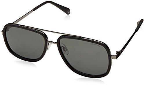 Polaroid Gradient Square Women's Sunglasses - (PLD 6033/S 807 57M9|57|Grey Color) image