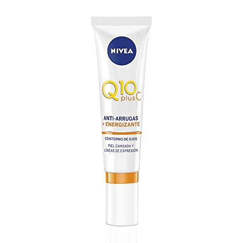 NIVEA Q10plusC Anti-Arrugas + Energizante Contorno de Ojos (1 x 15 ml)