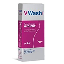 VWash Plus Intimate Hygiene Wash - 200 ml (Pack Of 3)