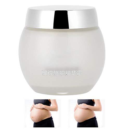 Crema de eliminación de estrías, Crema reparadora del embarazo para el removedor de cicatrices de las arrugas del vientre Crema corporal hidratante y reafirmante para la piel