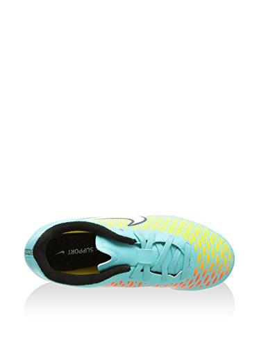 Nike - Jr Magista Onda Fg (Xm31.2), - Uomo Turchese/Giallo