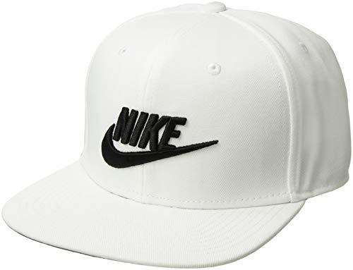 Nike U NSW PRO Futura Hat, White/Pine Green/Black, One Size -