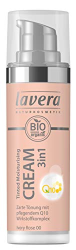 Lavera Tinted Moisturising Cream 3in1 Q10 -Ivory Rose 00, 30 ml