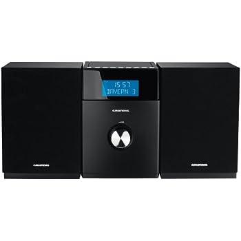 Grundig MS 510 Système Audio Argent/Noir