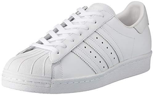 adidas Herren Superstar '80s Outdoor Fitnessschuhe, Elfenbein (FTWR White/FTWR White/core Black), 45 1/3 EU