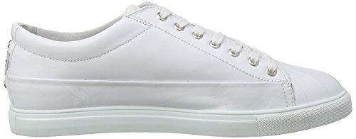 Blauer USA 6scuptoe/Lea, Sneaker Basse Uomo Bianco (Bianco)