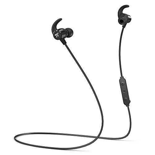 Cuffie Bluetooth 4.2 Magnetiche TaoTronics Auricolari IPX6 Wireless Impermeabili a Prova di Sudore 8 Ore Riproduzione Cuffie Sport Leggere per la Corsa con Microfono per Smartphone Andriod iPhone ecc