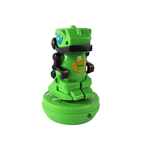 12shage Mini Green Dinosaur Robot Intelligente Bildung Kinder Spielzeug Geschenk beweglichen Körper pädagogisches intelligentes Lernen Spielzeug