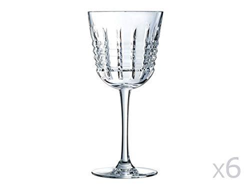 Cristal d'Arques AVE3618005 Verre, Cristallin, Multicolore, 27 X 18